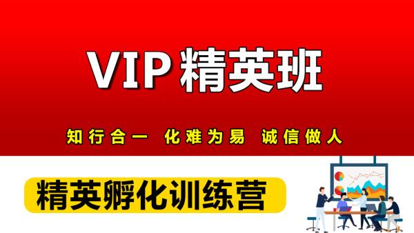 【知易】速卖通VIP精英孵化班