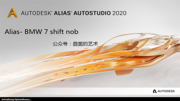 Alias-BMW 7 shift nob