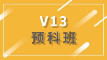 V13.0预科班