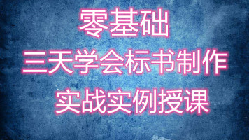 【天菜自学网】简单学造价-标书制作教程