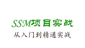 SSM项目实战