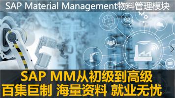 SAP MM物料管理培训课程