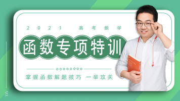 【函数专项高考特训班】2021高考数学高中数学(适用新高考)