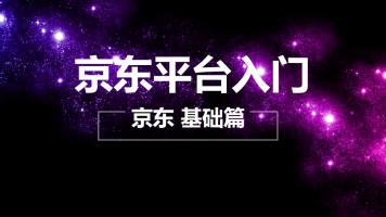 京东平台运营基础入门 动画教学【淘金商学院】