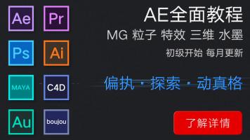 AfterEffects中文全面系统教程脚本插件模板动真格