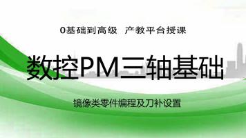 PM镜像类文件编程及刀补设置