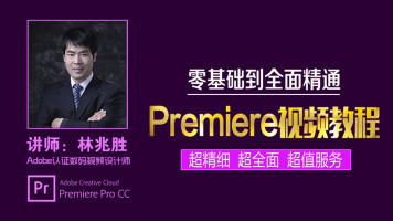 Premiere视频教程从零基础到全面精通