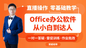 2020年Office办公软件Excel/Word/PPT零基础小白VIP精讲脱白班