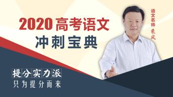 2020高考语文冲刺宝典