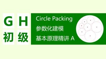 【Grasshopper参数化建模】CirclePacking原理精讲 A(附GH文件)