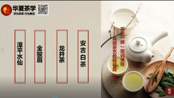 茶艺(师)培训课程——高级茶艺教程视频  上  序