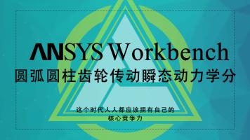 ANSYS WorkBench-08-圆弧圆柱齿轮传动瞬态动力学分析
