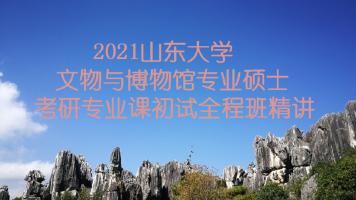 2021山东大学文博综合348考研专业课精讲全程班