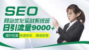 SEO网站优化实战系统班/网赚/快速排名/搜索引擎优化/SEO工程师