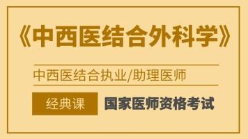国家医师资格考试中西医执业/助理医师【中西医外科学】经典班