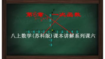 初二数学上册《第6章 一次函数》课本精讲(苏科版数学八年级上册)