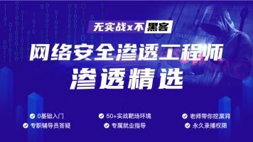 渗透工程师实战攻防技能/黑客/网络安全/web安全/测试/信息安全