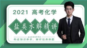 2021高考化学盐类水解专题/高中化学/讲义+答疑+督学