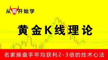 名师教学  黄金K线理论 详解股市十大标志性K线 股票入门视频教程