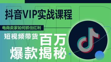 抖音短视频VIP课程全套系统学习班