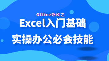 Office办公之Excel入门基础实操办公必会技能(wps、PPT、办公)