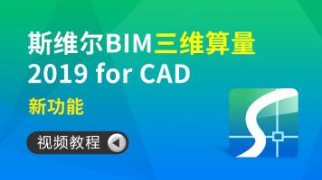 斯维尔 BIM 三维算量 2019 for CAD视频教程—新功能