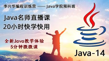 Java14快学快用