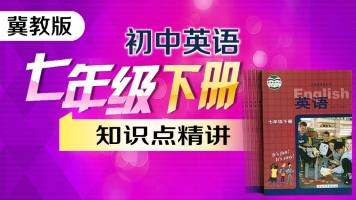 【冀教版】初中英语七年级下册(初一)教材知识点精讲课