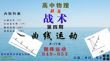 题海-曲线运动-抛体运动049-053高中物理 高考物理