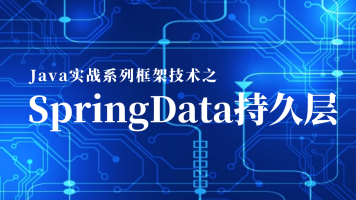 Java实战系列框架技术之SpringData持久层