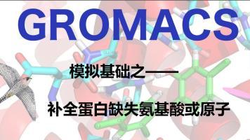 GROMACS模拟基础之补全缺失氨基酸或原子