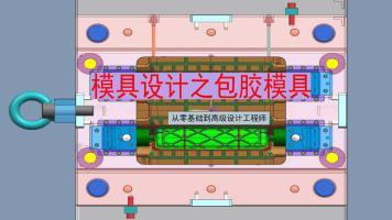 UG/CAD模具设计之专业包胶模具