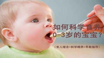 高级育婴师培训课程(0-3岁宝宝全套护理手册)