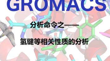 GROMACS分析命令之氢键相关性质