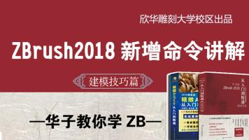 华子教你学zb__zbrush2018新增命令讲解(zbrush教程)
