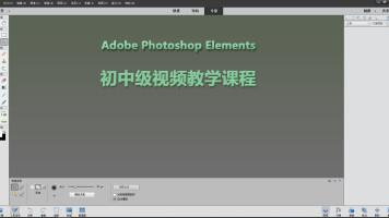 Photoshop Elements 初中级视频教学课程