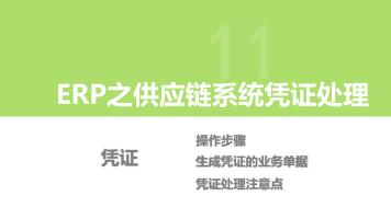 ERP 业务凭证处理