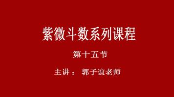 郭子谊讲紫微斗数系列课程【15】