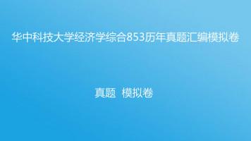 华中科技大学经济学综合853考研真题模拟卷汇总