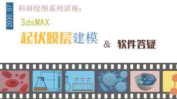 起伏膜层建模 and 软件答疑(3DSmax)