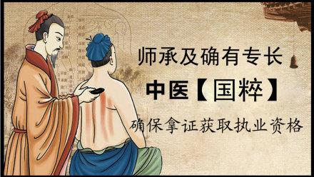 中医师承及传统医学医术确有专长考核认证班【学乐优医考】