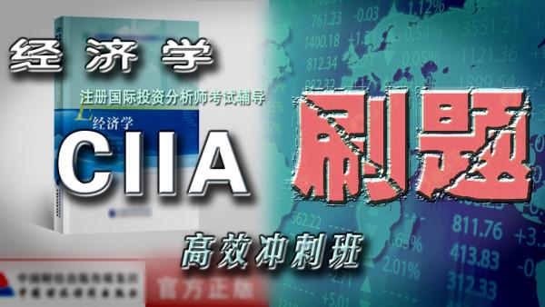 CIIA刷题【经济学】注册国际投资分析师