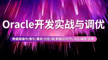 Oracle开发实战与调优【升职加薪,只争朝夕】加微信13163257325