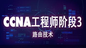 思科CCNA网络工程师阶段3-路由技术