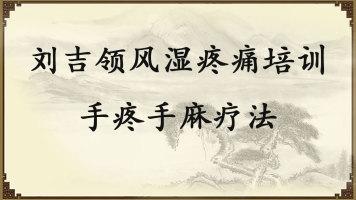刘吉领风湿疼痛培训——手疼手麻