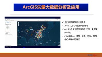 ArcGIS矢量大数据分析及应用