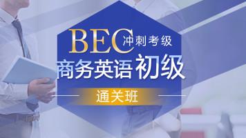 BEC商务英语初级专项考试冲刺课程【随到随学班】