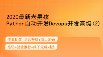 2020最新老男孩Python自动开发Devops开发高级(2)
