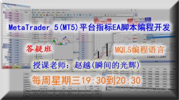 MT5指标EA开发MQL5语言(答疑班)