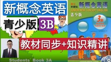 【精品课】新概念英语青少版(3B)教材同步+知识精讲